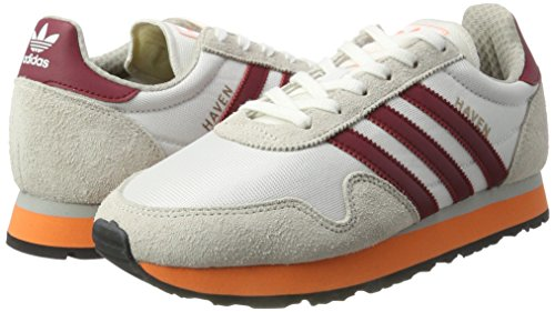 ftwr Adidas collegiate Multicolore Baskets Homme Basses Burgundy White easy Haven Orange ZPnPRr6xwX