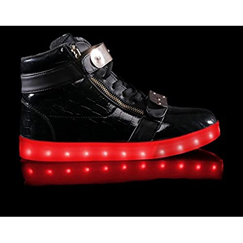 Light Up Shoes Hoverkicks Womens Orion (Black) with Remote