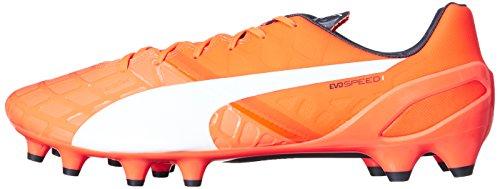 Puma Evospeed 1.4fg Botas de fútbol Lava Blast/White/Total Eclipse