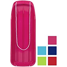 "Best Choice Products 48"" Kids Snow Sled Toboggan Outdoor W/ Rope Sport- Variety of Colors Available"