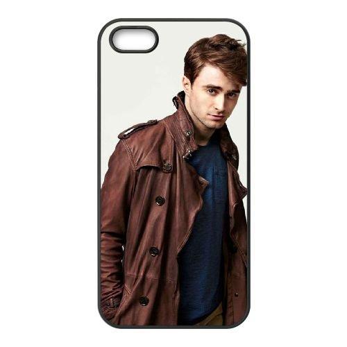 Daniel Jacob Radcliffe 2 coque iPhone 4 4S cellulaire cas coque de téléphone cas téléphone cellulaire noir couvercle EEEXLKNBC24401