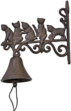 Campana familia gatos: Amazon.es: Hogar