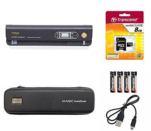 Vupoint Magic InstaScan (PDS-ST420-VP) Portable Smart Scanner BUNDLE