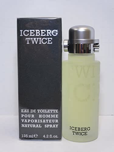 Iceberg Twice By Iceberg For Men. Eau De Toilette Spray 4.2 Ounces Iceberg