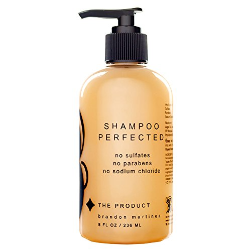 Sulfate Free Shampoo Made With French Argan Oil-Sodium Chloride Free, Moisturizing Shampoo With Pro-Vitamin B-B. The Product Shampoo Perfected - Product B The