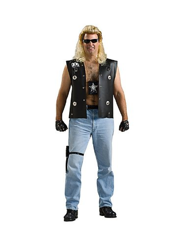 [Dog the Bounty Hunter Costume - Plus Size - Chest Size 50-54] (Woman Bounty Hunter Costume)