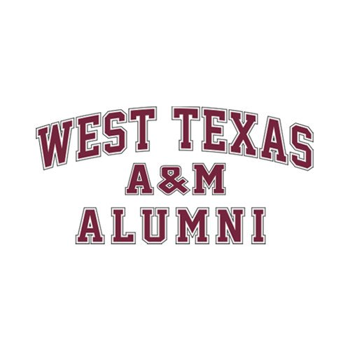 Amazon com west texas aalumni sports fan automotive decals sports outdoors