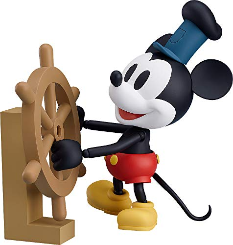 (Good Smile Steamboat Willie: Mickey Mouse (1928 Color Version) Nendoroid Action Figure)