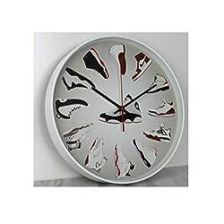 14 Large Luxury Quartz Wall Clock Reliable Air Jordan Sneaker Head Hype Beast Decor Wall Art