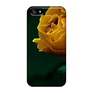 AshnleyFryers Premium Protective Hard Case For Iphone 5/5s- Nice Design - A Yellow Rose