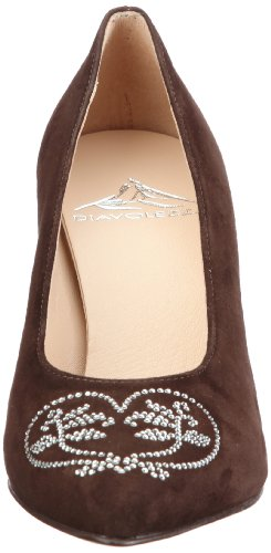 Marrón Zapatos 9501 ante de mujer Diavolezza para de MILA vestir EpxUn5Azwq
