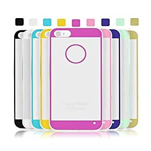 GJY Angibabe 0.3mm Acrylic Transparent Soft TPU Phone Back Cover for iPhone 5/5S (Assorted Colors) , Light Green