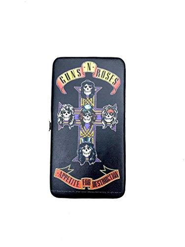 Top 15 buckle down clutch wallet - Harley Quinn - Batman - wonder woman more (Guns N Roses Clutch (Guns N Roses Belt Buckle)