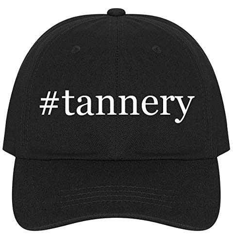 - The Town Butler #Tannery - A Nice Comfortable Adjustable Hashtag Dad Hat Cap, Black
