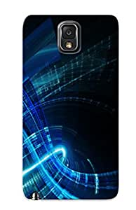Design High Impact Dirt/shock Proof Case Cover For Galaxy Note 3 (Abstract Blue)