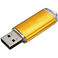 USB Flash Drive - SODIAL(R) 10 x 2GB USB Stick 2.0 memory stick data Stick Gold