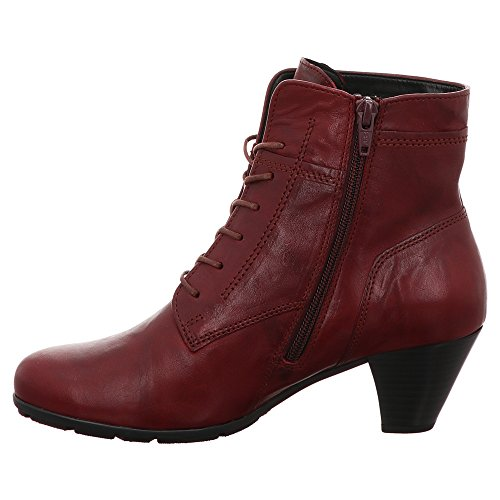 Bottines à Red Gabor Noires Dark Noir Lacets fZxanqagdw
