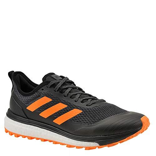 - adidas outdoor Response Boost Trail Running Boot - Men's Black/Hi-res Orange/Hi-res Blue, 10.0