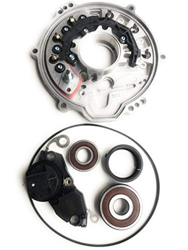 Repair Kit Rectifier,Regulator,Bearings,Tolerance Ring,O-Ring For Bosch Water Cooled Alternator 0 122 0AA 090,01220AA090,12-31-7-507-741,12-31-7-507-995 Used on BMW 745i,745Li V8 4.4L 4398cc 2002-2004