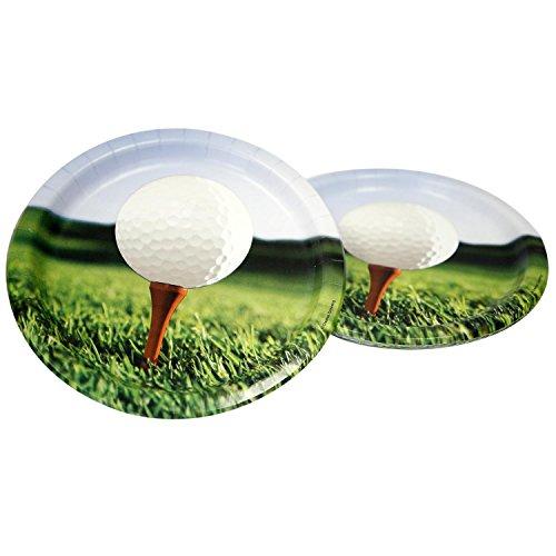 Creative Converting 427965 Golf Plates
