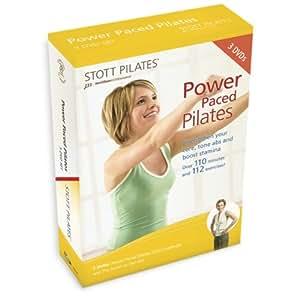 STOTT PILATES: Power Paced Pilates 3 DVD Set