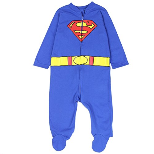 [Superman Baby Boys Costume Sleeper, 6-9 Months] (Baby Costumes Penguin)