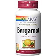 Solaray Bergamot Special Formula Fruit Extract 500 mg VCapsules, 60 Count