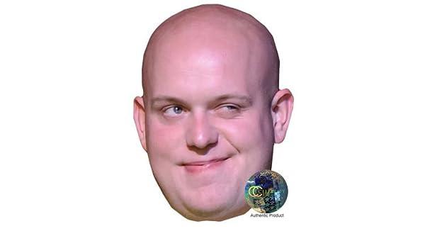 Michael van Gerwen Máscaras de personajes famosos, caras de carton: Amazon.es: Juguetes y juegos