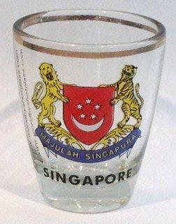 Singapore Shot Glass - Glasses Singapore