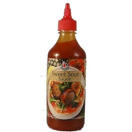 Flying Goose Süß Sauer Sauce 455ml Thailand Amazonde Lebensmittel