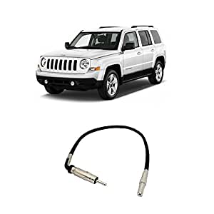 Amazon.com: Fits Jeep Patriot 2007-2008 Factory Stereo to ... on ford edge stereo wiring, ford ranger stereo wiring, mitsubishi galant stereo wiring, dodge intrepid stereo wiring, mercury montego stereo wiring, toyota 4runner stereo wiring, nissan frontier stereo wiring, mini cooper stereo wiring, dodge neon stereo wiring, dodge nitro stereo wiring, hummer h2 stereo wiring, ford explorer stereo wiring, chevy equinox stereo wiring, chrysler concorde stereo wiring, saturn vue stereo wiring, honda crv stereo wiring, hummer h3 stereo wiring, honda element stereo wiring, dodge journey stereo wiring, cadillac ats stereo wiring,