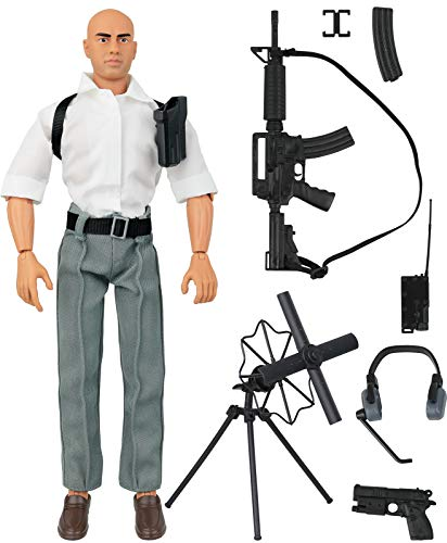 Figures Inch Military 12 (Click N' Play Secret Service Spy Agent 12