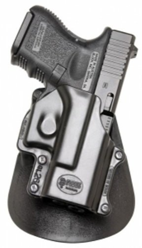 Fobus Roto Level 2 Thumb Holster RH Roto-Paddle & Belt GL26PB Glock 26/27/33 Level 2 Thumb ()