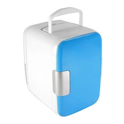 Amazon.es: Refrigerador 4L 12V 220V Mini Coche Nevera Refrigerador ...