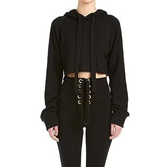 a6c0e209 EFINNY Womens Sweatshirt Long Sleeve Casual Hoodie Pullover Top ...