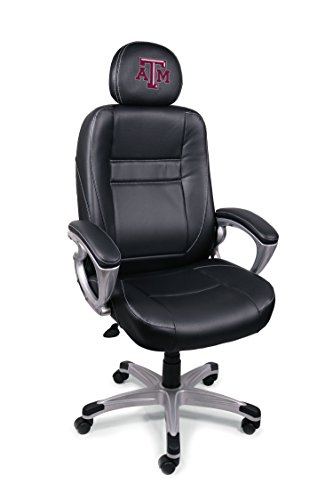 Wild Sports NCAA College Texas A&M Aggies Leather Office Chair