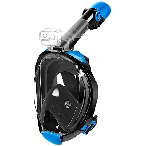 MADETEC Full Face Snorkel Mask for Adult