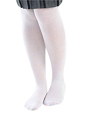 Scolaire Pour Fille Collants Blanc Uniforme wTEqw1Z