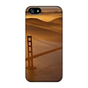 Phone Case Iphone 5/5s Hybrid Tpu Case Cover Silicon Bumper Bridge
