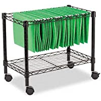ALEFW601424BL - Best Single-Tier Rolling File Cart