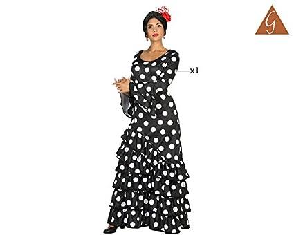 Atosa-16940 Disfraz Flamenca M-L, Color Negro, (16940): Amazon.es: Juguetes y juegos