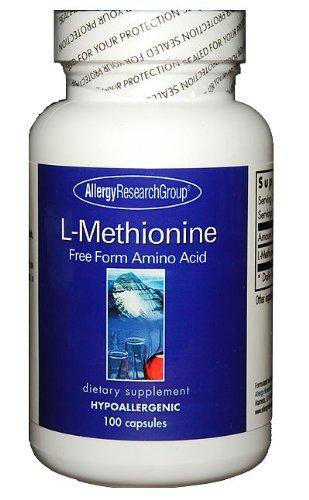 Groupe de recherche sur les allergies - L-Méthionine 500 mg 100 gélules