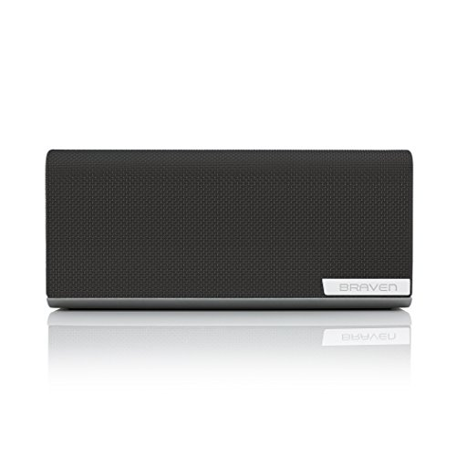 Braven 1100 Portable Bluetooth Speaker [8800 mAh] 28 Hour Playtime – Graphite / Dark Gray