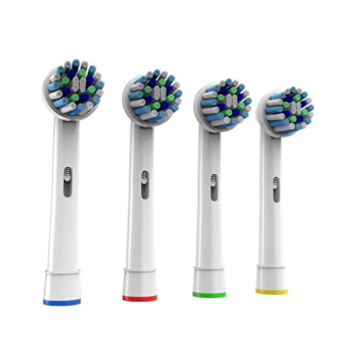 Cross Action Compatible Oral B Electric Toothbrush Replac...