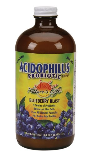 Natures Life Acidophilus Pro 96 Blueberry 16 Ounce