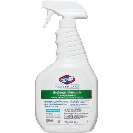 Clorox 30828 Hydrogen Peroxide Cleaner 1 Quart 1/Bt