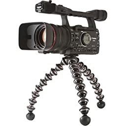 JOBY GorillaPod Focus. Flexible Camera Tripod with Ballhead for DSLR Camera Rigs with Zoom Lenses up to 5kg.