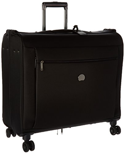 Delsey Luggage Montmartre+ 4 Wheel Spinner Garment Bag, Black (Luggage Garment Bag With Wheels compare prices)