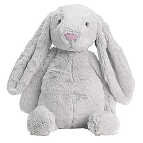 Halffle Rabbit Doll Plush Toy, 11 Inch Sleeping Soft Comfort Stuffed Toy Gifts Stuffed Animals & Teddy Bears for Baby Kids