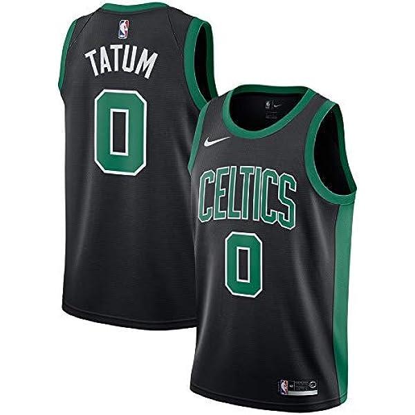 Lalagofe Jason Tatum Boston Celtics #0 - Camiseta de baloncesto para mujer con bordado de estilo deportivo (talla S), color negro: Amazon.es: Ropa y accesorios